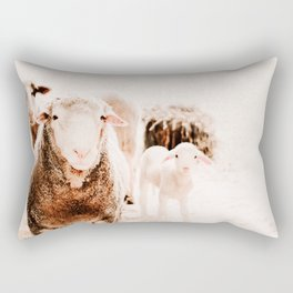 Milly's family portrait Rectangular Pillow