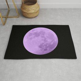 LAVENDER MOON // BLACK SKY Rug