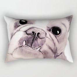 Bully Bull Dog Rectangular Pillow