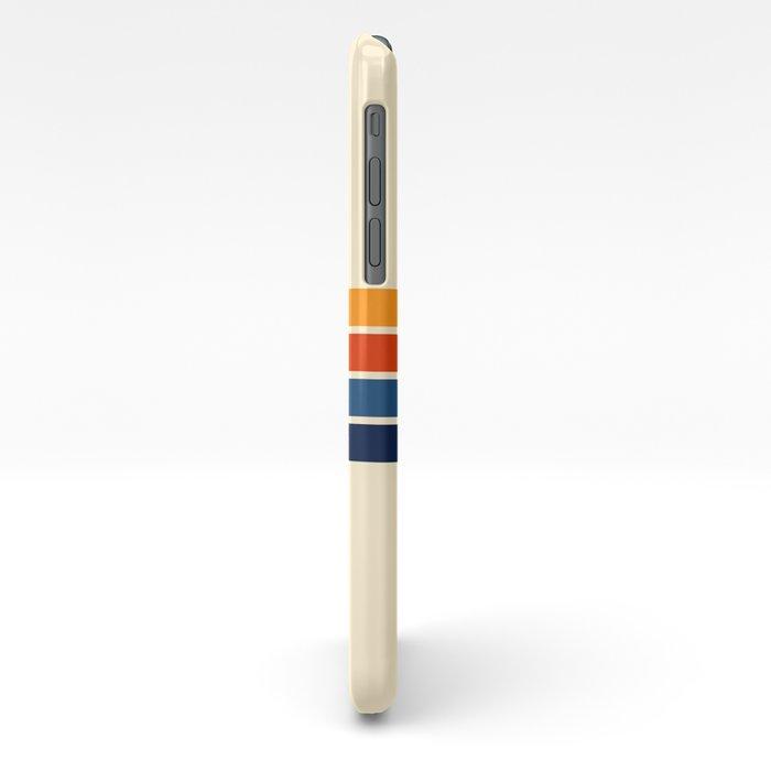 Classic Retro Stripes iPhone Case