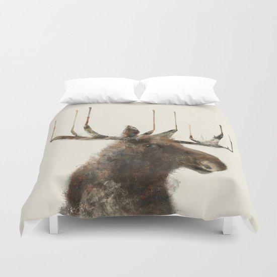 the moose Duvet Cover