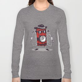 what time is it? it's time to explode Long Sleeve T-shirt