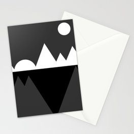 Abstraction 019 - Minimal Geometric Triangle Stationery Cards