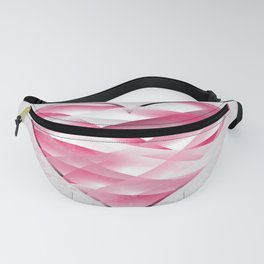 pink heart Fanny Pack