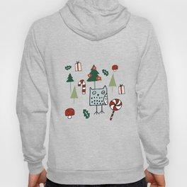 Christmas Owl Green #Christmas #Holiday Hoody