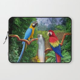 Macaw Tropical Parrots Laptop Sleeve