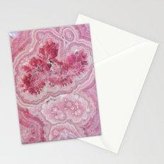 Rose Quartz Gem Stationery Cards