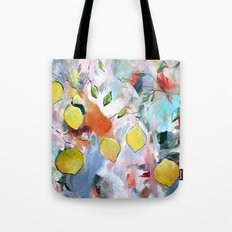 When Life Gives You Lemons, Paint Them Tote Bag