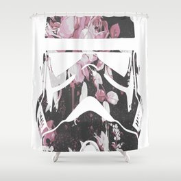Blooming Stormtrooper Shower Curtain