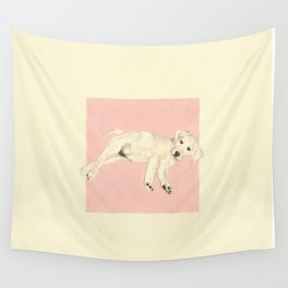 puppy Wall Tapestry