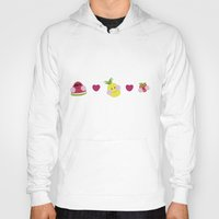 fruits Hoodies featuring Fruits by Jackiemtmtz