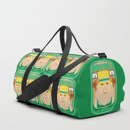 Basketball Green - Court Dunkdribbler - Sven version Duffle Bag