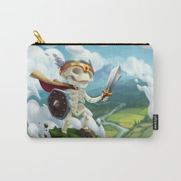 The Flying Skeleton Carry-All Pouch
