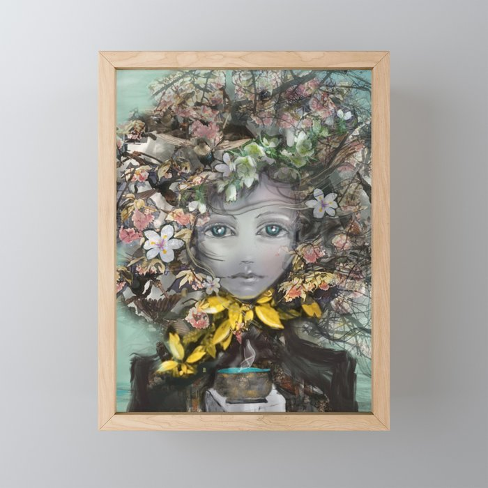 Changing Seasons Framed Mini Art Print