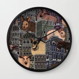 London City Farm Wall Clock