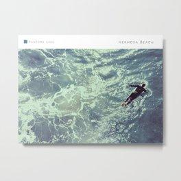Pantone: Hermosa Beach Metal Print