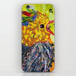 Singing Bird Happy Bird Baby Bunting iPhone Skin
