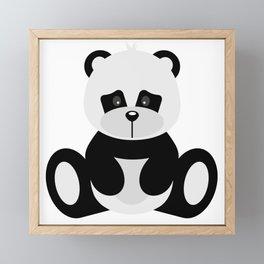 Panda Framed Mini Art Print