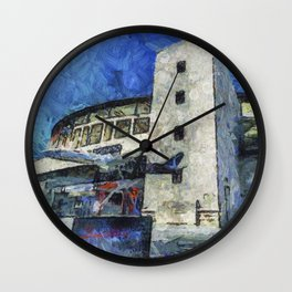 Besiktas Stadium Art Wall Clock