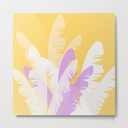 The Pale Banana Tree Metal Print