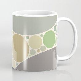 tamara - soft neutral earth tones abstract dots design Coffee Mug