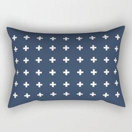 TINY CROSSES Rectangular Pillow