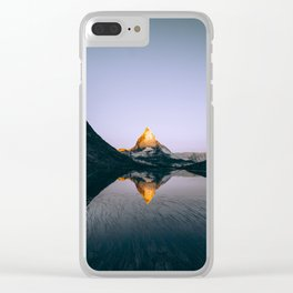 Zermatt, Switzerland #society6 #decor #buyart Clear iPhone Case