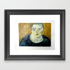 Dark Mood Framed Art Print