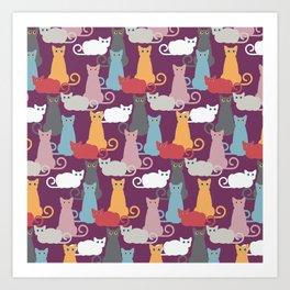 clowder Art Print