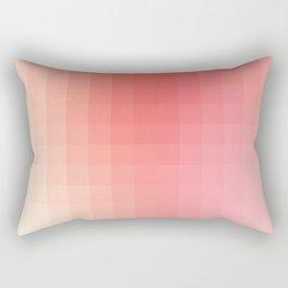 Lumen, Pink Glow Rectangular Pillow