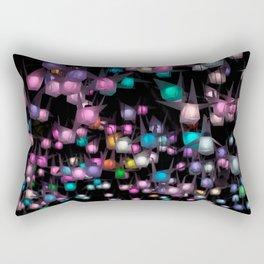 Crystal night Rectangular Pillow
