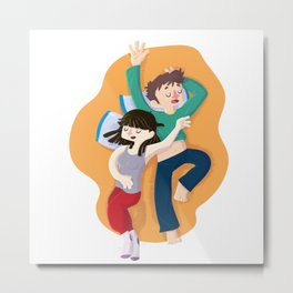 Sweet dreams - woman+man Metal Print