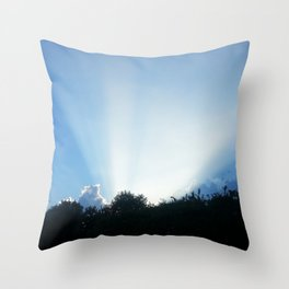 DON'T BE SHY MY CLOUDS Throw Pillow