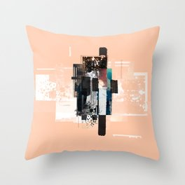 """Pack Mule Four"" Graphic Art Print Throw Pillow"