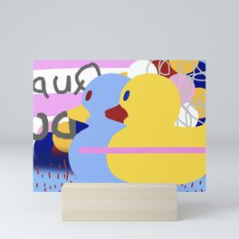 Rubber Band Mini Art Print