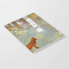 Autumn Fox Notebook