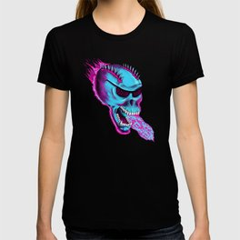 Sonic Skull - Blue Mayhem T-shirt