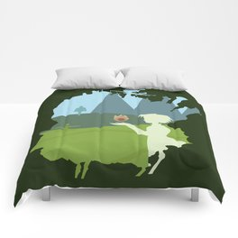 Howl's moving castle Comforters