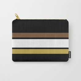 Team Colors 2... caramel, brown Carry-All Pouch