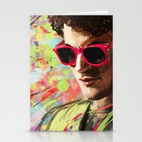 darren criss Stationery Cards featuring Colourful Darren Criss by Ines92