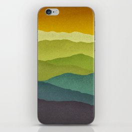 Mountain Colors iPhone Skin