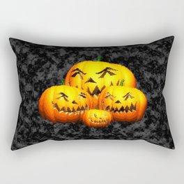 Cute Pumpkin Family Rectangular Pillow