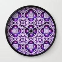boho Wall Clocks featuring Boho by Lyle Hatch