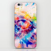 iris iPhone & iPod Skins featuring Iris by Kimsey Price
