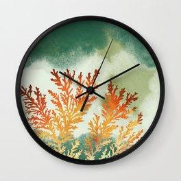 Sandstone Fossils Wall Clock