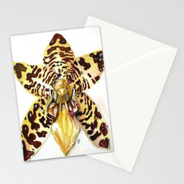 Ansellia Africana Orchid Stationery Cards