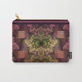 Unending magical spirals and spheres Carry-All Pouch