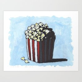 popcorns Art Print