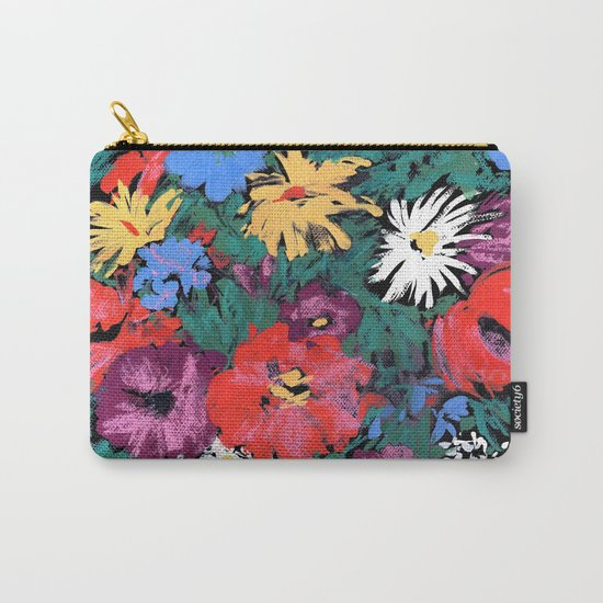 Redon floral Carry-All Pouch