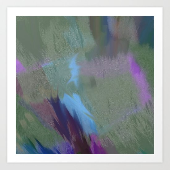 The Abstract  Art Print